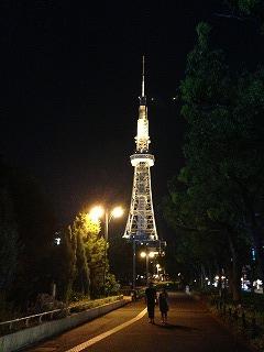 高所恐怖症だけど「日本で最初の…」の言葉に惹かれてテレビ塔に昇ってみた。