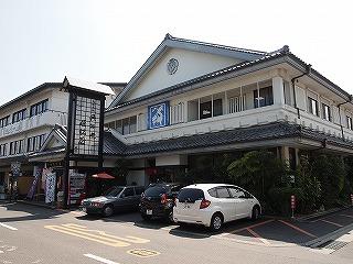 島原名物の具雑煮が食べられるお店「姫松屋」。あちこちの席から出汁が美味しいと声が飛び交う