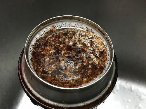 水筒の洗浄でビックリ!茶渋が!コーヒーの着色が!THERMOS(サーモス)純正漂白剤