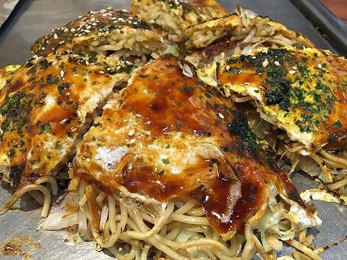 イオンモール広島府中に行ったら「五エ門」でお好み焼きを食べるが定番です。