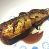 今日の釣果はイワシ1匹ですが、甘辛煮で美味しくいただきます。(17)
