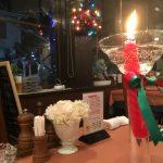 福山市東川口町にあるキッチン・タケウチでクリスマスディナー。