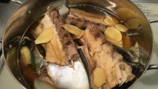 長崎県産のブリで作った「ブリ大根」のレシピを残しておく。