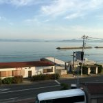松風(旅館)の目の前が海岸だったので釣りをしてみた小豆島旅行初日の夕マズメ。