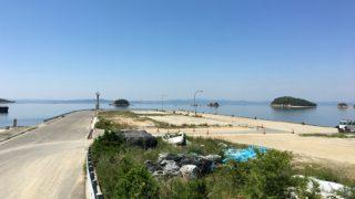 小豆島 大部港でショアジギングとメバリングをやってみた。