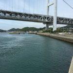 倉敷市児島の田之浦(たのうら)に遠征してシーバス、イカなどを釣りました。