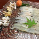 JCBザ・クラスのグルメベネフィットを使って香川県高松市の「ひさご亭」でおこぜづくし。