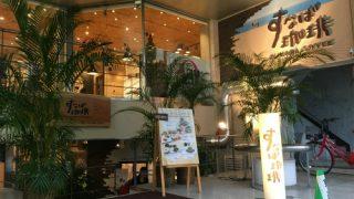 すなば珈琲鳥取駅前店のモーニングセットで朝食を。